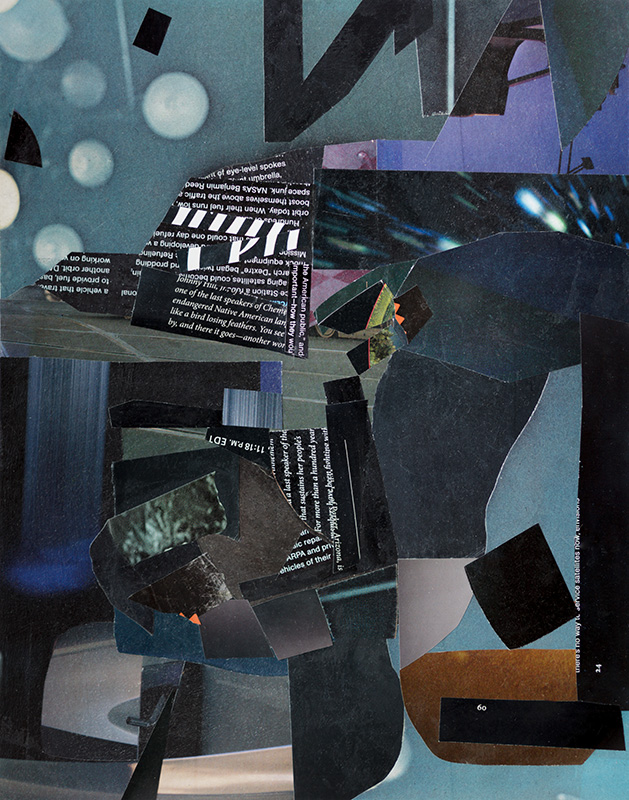 Dark Matter - collage